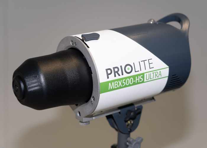 Priolite MBX 500 Hot Sync Ultra Pro Studio Strobe - 1