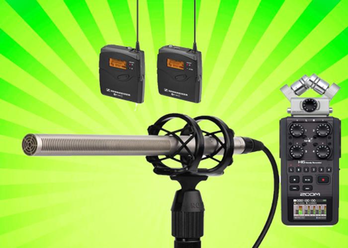 Pro Audio External Recording Kit (NTG3 + Zoom H6 + G3 Lav) - 1