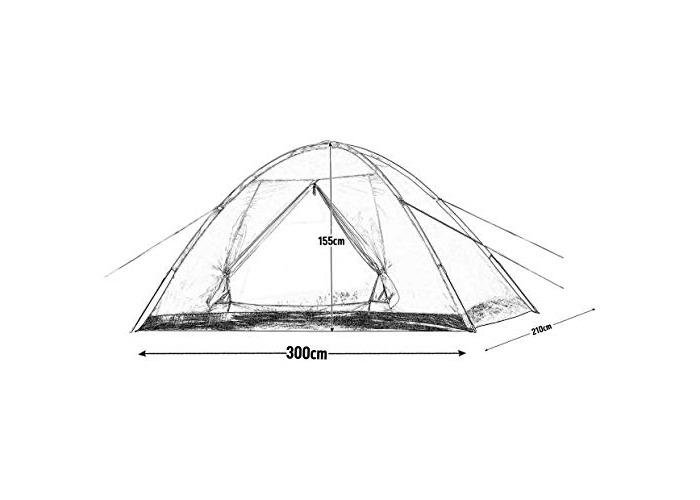 Pro-Action 5 Man Dome Tent. - 1