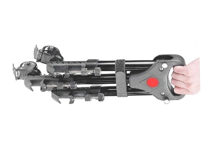 Professional Aluminum Alloy 400mm ExtendableTripod Dolly - 2