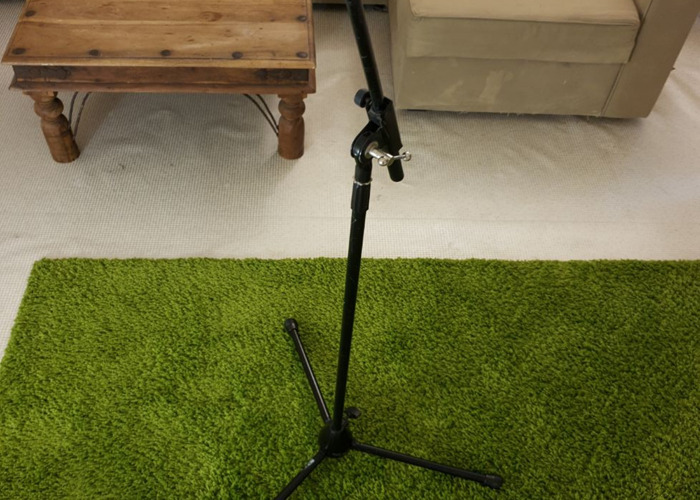 Professional Mic Stand with Telescopic Boom - 2