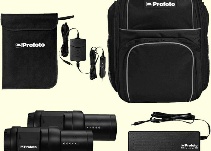 Profoto B1 500w AirTTL Location Flash Kit & Extra Batteries - 1