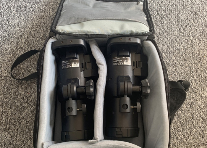 Profoto b1X Air TTL x2 Location Kit photography lights - 2