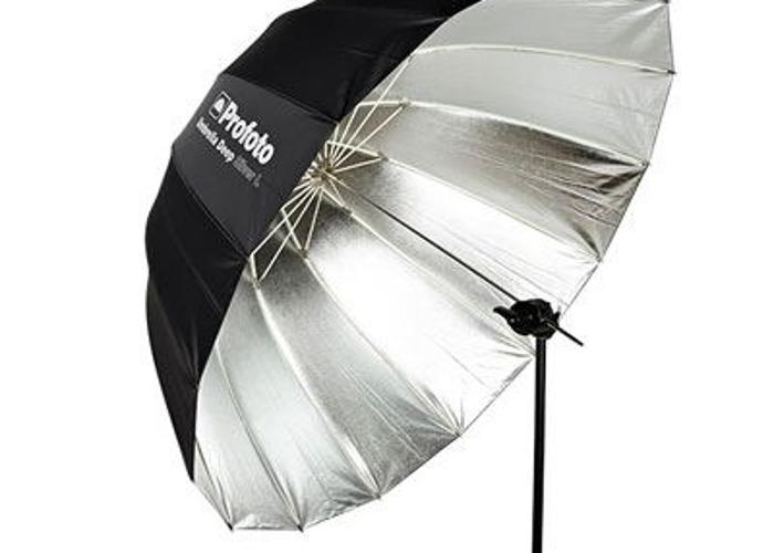 Profoto Deep Silver Umbrella - Large - 1