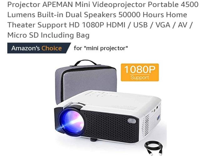 Projector Aceman  - 1