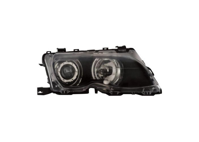 Projector Headlights LHD For BMW E46 Coupe Cabrio 09/01-03/03 Ccfl-Angel - 1