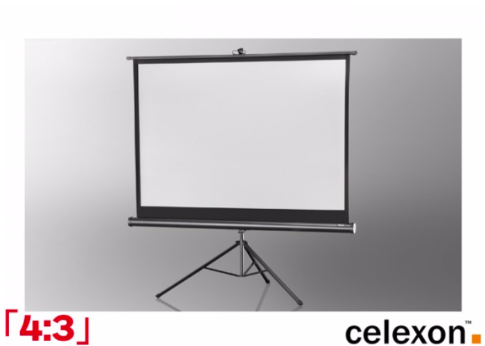 Projector screen 2.1m Portable Tripod - 1
