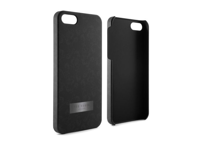 Proporta 10096, Ted Baker Hard Shell For Apple iPhone 5, Black Print, Black - 1