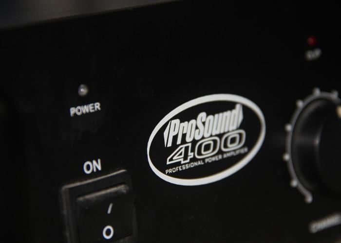 Prosound 400 Amplifier - 2