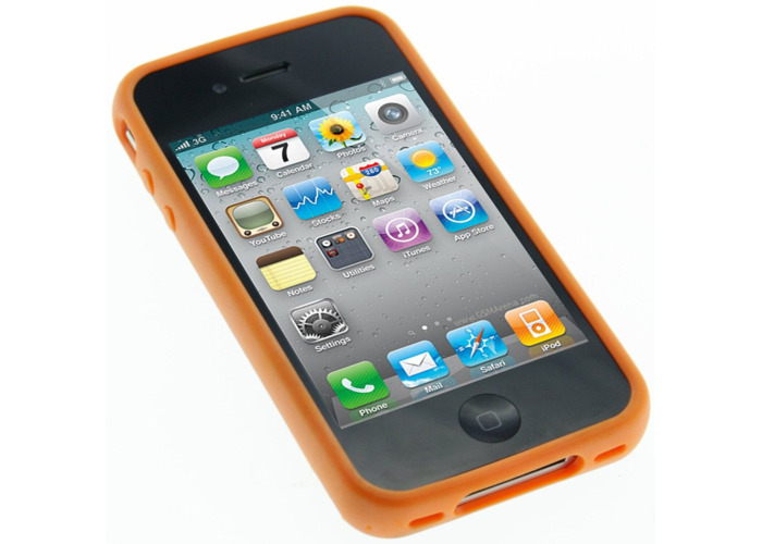 Pro-Tec Xpression Window Case Cover for iPhone 4/4S - Orange - 2