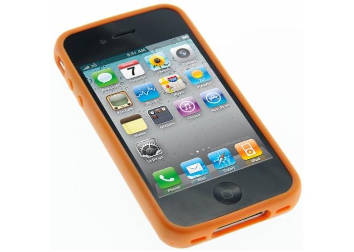 Pro-Tec Xpression Window Case Cover for iPhone 4/4S - Orange - 1