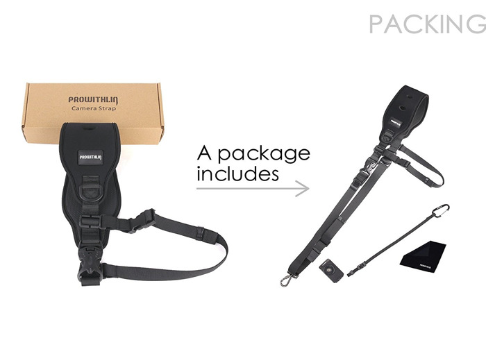Prowithlin Professional Photography  Shoulder Strap  - 2