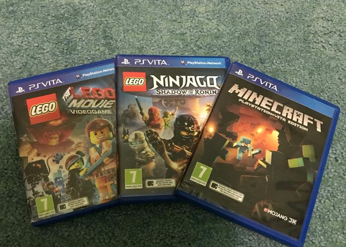 PS Vita Games/LEGO Movie Video Game/LEGO Ninjago etc.. - 1