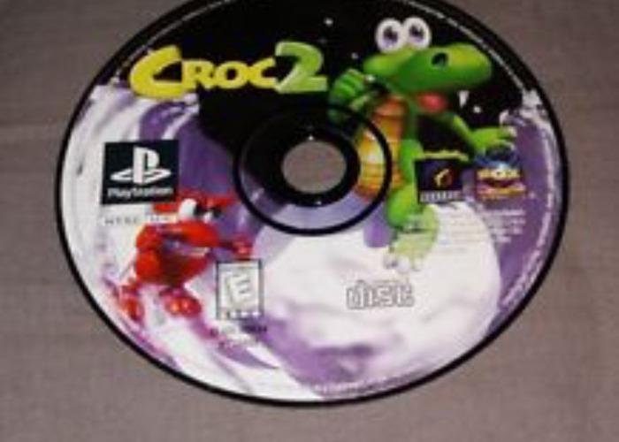 PS1 Games: Spyro Rugrats Bedlam Croc - 2