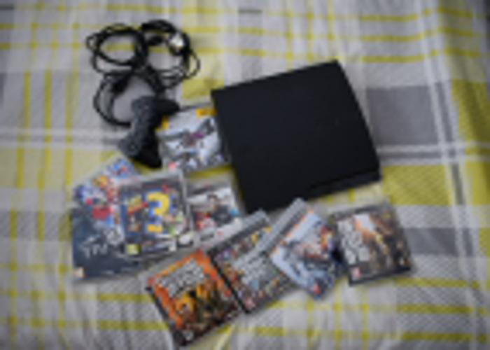 PS3 Slim 160GB Console - 2