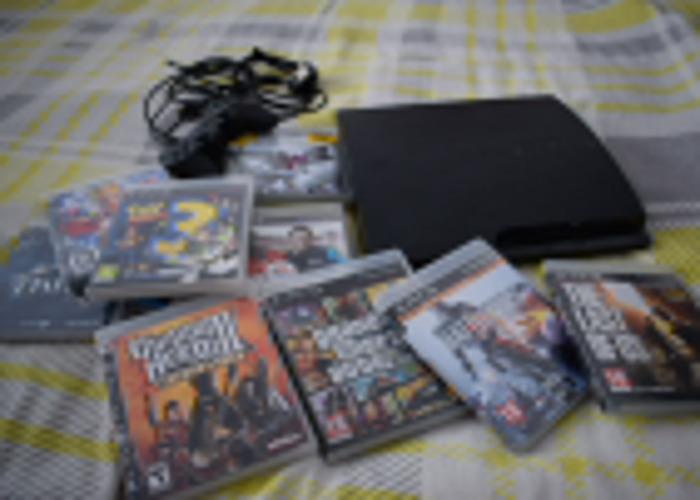 PS3 Slim 160GB Console - 1