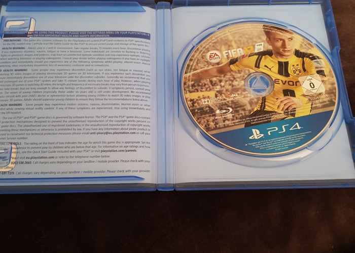 Ps4 fifa 17 game - 2