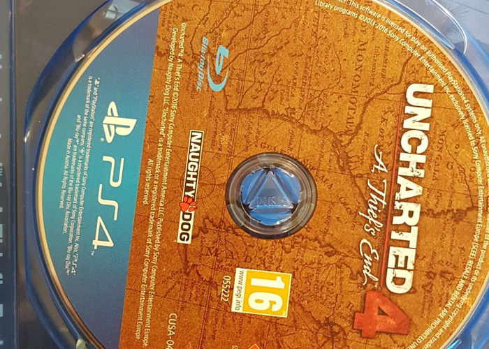 PS4 Game Uncharted 4 - A Thief's End - 2