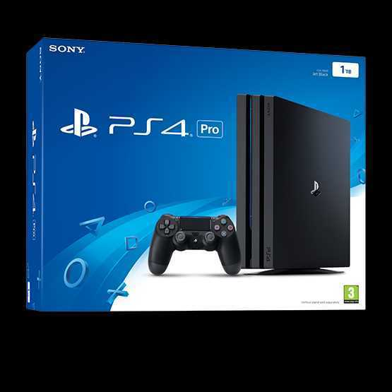 PS4 Pro Console and Controller - 1