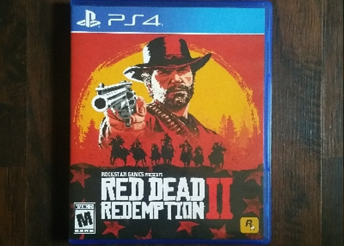 PS4 Red Dead Redemption 2 - 1