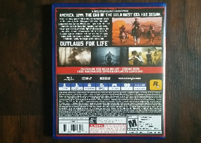 PS4 Red Dead Redemption 2 - 2