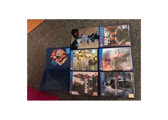 (PS4) Uncharted 4, fifa 20, fifa 16, Call Of duty black ops 3, - 1