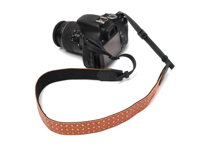 PU Camera Shoulder Neck Belt Strap For SLR DSLR Nikon Canon Sony - 1