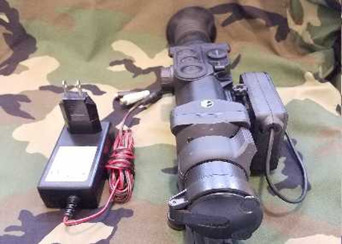 Pulsar Xd50 thermal scope and Triclawps Tripod - 1