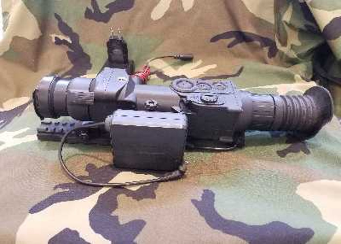 Pulsar Xd50 thermal scope and Triclawps Tripod - 2