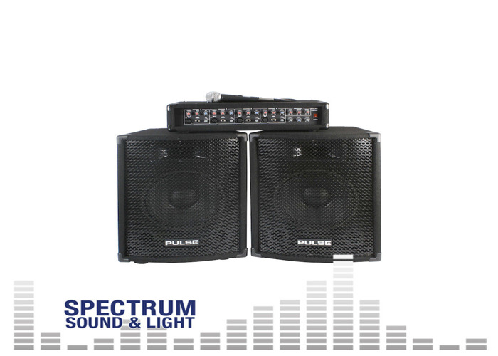 Pulse - PMH200KIT - PA SYSTEM (Amplifier  Speakers  Mic) [DP31875] Speaker Packa - 2