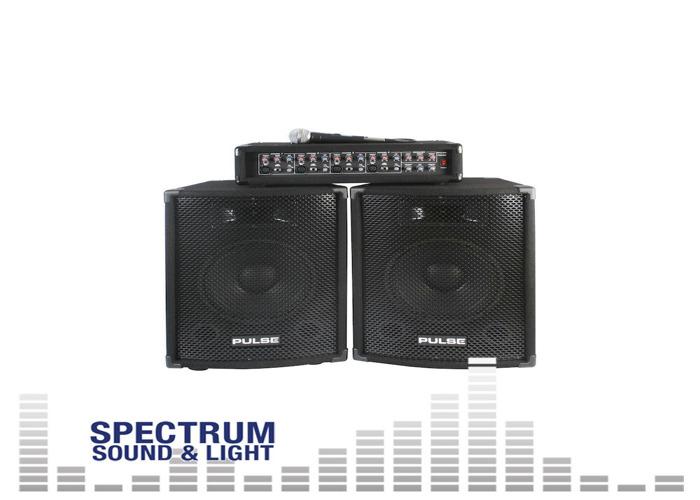 Pulse - PMH200KIT - PA SYSTEM (Amplifier  Speakers  Mic) [DP31875] Speaker Packa - 1
