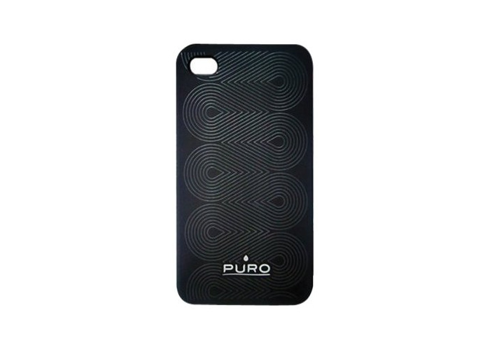 Puro Mobile Phone Case for iPhone 4G Heavy Duty Silicone - 1