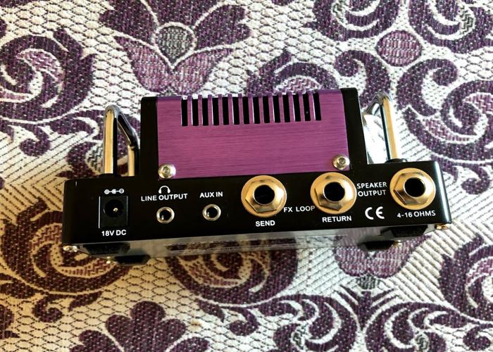 Purple Wind Hotone Nano Amplifer Head - 2