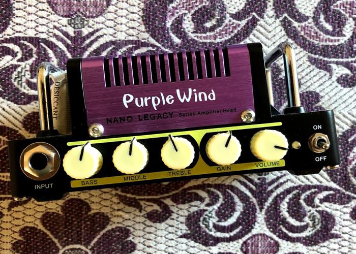 Purple Wind Hotone Nano Amplifer Head - 1