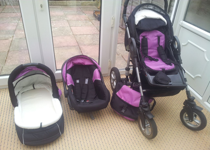 Pushchair, With Car Seat  - 1