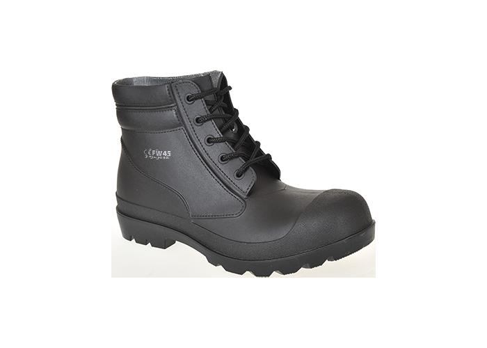 PVC Boot S5  39/6  Black  39  R - 1