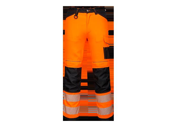 PW3 Hi-Vis Work Trousers  OrBkS  UK40 EU56  F  S - 1