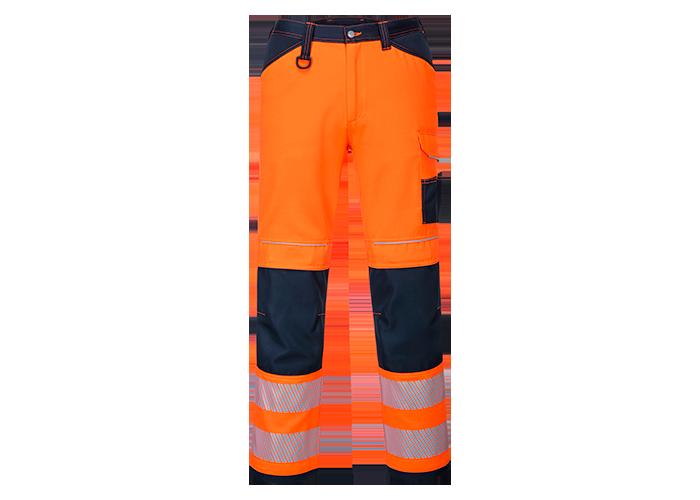PW3 Hi-Vis Work Trousers  OrNa S  UK42 EU58  F  S - 1