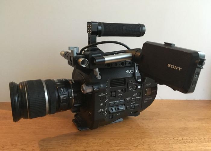 PXW-FS7 camera kit - 2