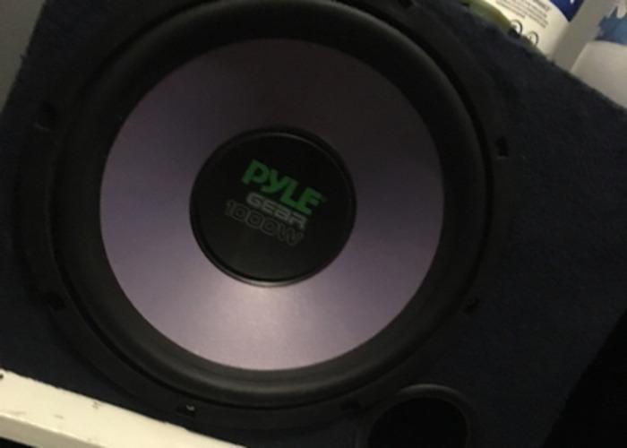 Pyle Subwoofer 1000w - 1