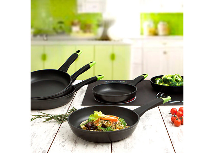 Pyrex 4937534 – Frying Pan 24 cm Forged Alum Optima, Black, 45 x 7 x 25 cm - 2