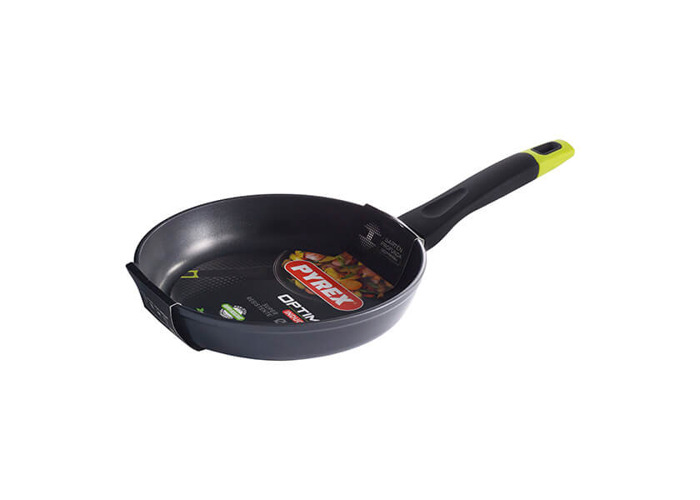 Pyrex 4937534 – Frying Pan 24 cm Forged Alum Optima, Black, 45 x 7 x 25 cm - 1