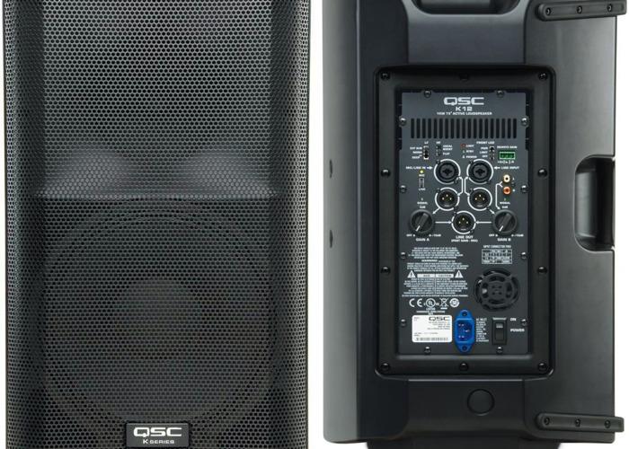 Rent QSC K12 DJ Speakers 12