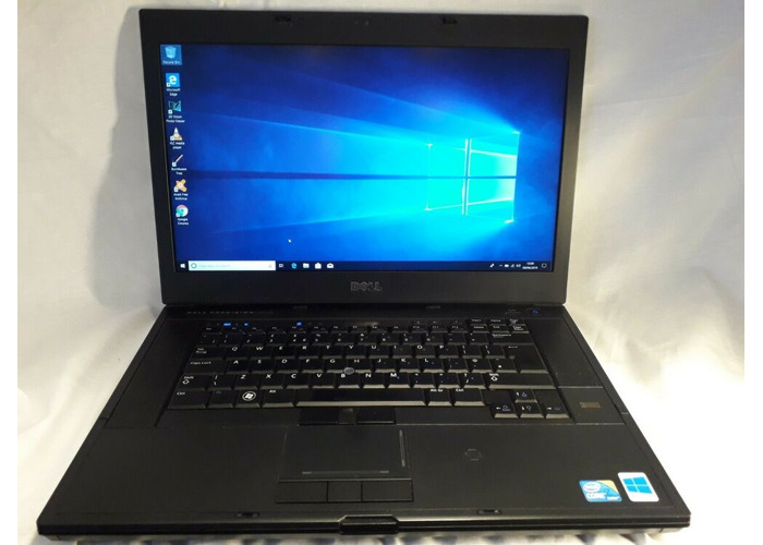 Quad Core i7 Dell Precision M4500 Laptop 1.73ghz / 8GB / 480GB SSD / Windows 10 - 1