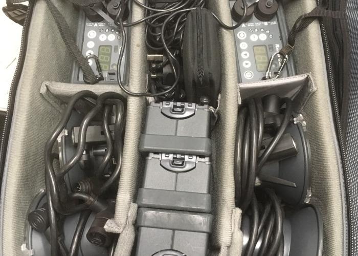 Quadra Ranger Lighting kit X 4 flash heads - 2