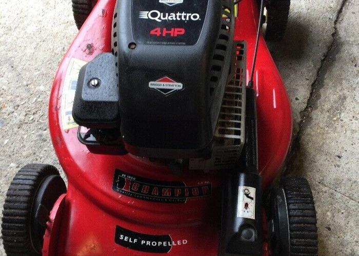 Quattro 4 Hp Mower With Briggs Stratton Engine