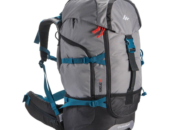 Quecha hiking padded back and shoulder support backpack - 1
