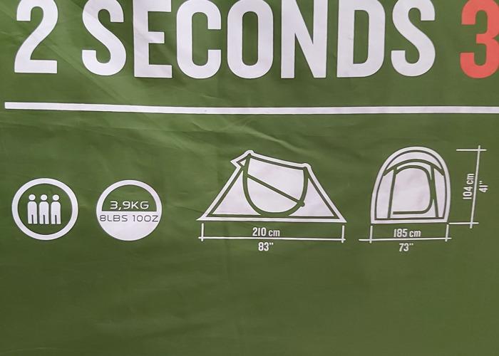 Quechua 2 second pop up tent  - 2