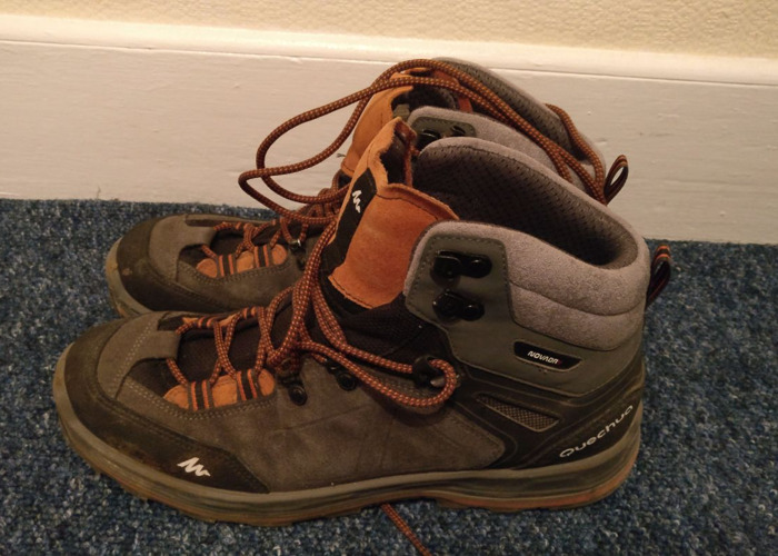 Quechua Hiking Boots - 1