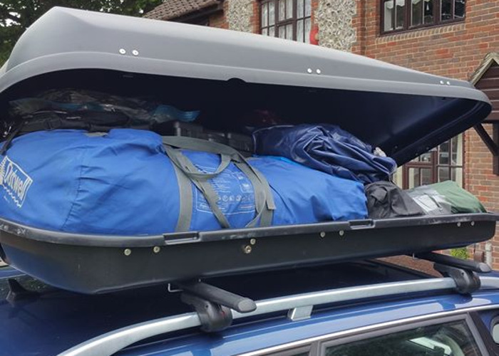 Quest 530 litre locking Roof Box - 1